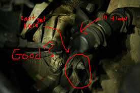 transfer case issues with pictures diesel forum