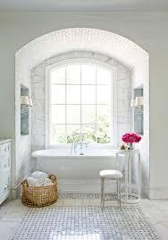 Bathroom Vanities In Atlanta Magnificent Marble Basketweave Floor With Tile Wall Sconces In