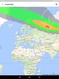 northern lights location map my aurora forecast aurora alerts northern lights apk download