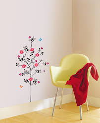 floral flower diy instant home office apartment decor wall sticker