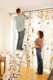 hanging curtains from ceiling how to make your mobile home ceilings appear taller