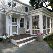 Enclosed Porch Plans Back Porch Ideas Future Back Porch Ideas Enclosed Natural Shades