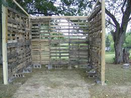 Free Standing Storage Building by Pallet Shed Building Rural Route Diaries