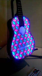 stained glass guitar youtube