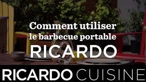 cuisine ricardo com barbecue portable ricardo ricardo cuisine