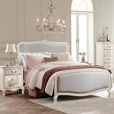 white adalene upholstered bed rosenberryrooms com