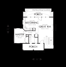 master retreat floor plans mascord house plan 1158 the abery