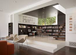 top home interior designers apartments modern interior home library design ideas with brown