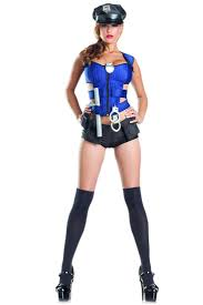 8 pc ravishing rookie cop costume