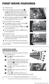 nissan versa yellow warning light nissan versa sedan 2014 2 g quick reference guide