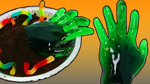 diy gummy zombie hand fun u0026 easy spooky halloween dessert youtube