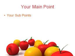 free flesh apple food ppt templates u2013 free powerpoint templates