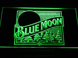 light up beer signs blue moon light up beer sign bar pub led signs light signs cave