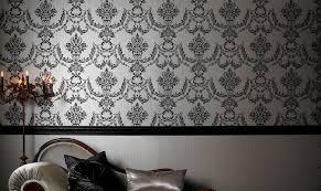 tappezzeria pareti casa carta da parati classica lussuosa tappezzeria di grande stile
