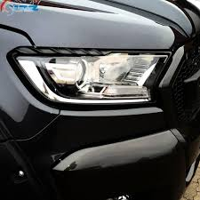 ford ranger covers aliexpress com buy 2016 2017 for ford ranger abs black headlight