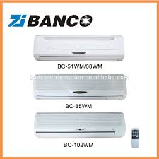 wall mounted chilled water fan coil unit with cabinet wall