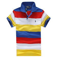 ralph lauren caps new striped polo men polo shirt white blue gray