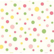 circus pink polka dot wallpaper wallpaper contemporary