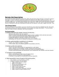 Waiter Job Description Resume Cover Letter Resume For Waitress Position Resume Cover Letter For