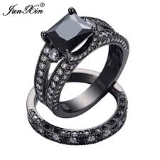aliexpress buy junxin size 5 6 7 8 9 10 women men rings set