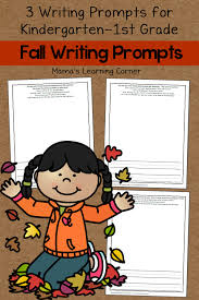 set of 3 fall writing prompts mamas learning corner