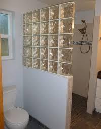 Glass Block Bathroom Designs Interior Bathroom Design Of Shower Room Designed With Glass Block