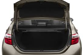 trunk space toyota corolla 2016 toyota corolla price photos reviews features