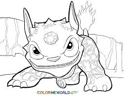 skylanders coloring pages free printable skylanders pdf coloring