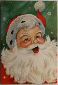 printable santa face pattern face santa claus free clip art