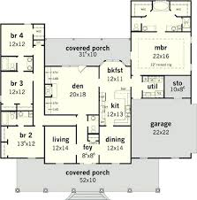 floor plans for 4 bedroom homes 4 bedroom house design beautiful 4 bedroom country plan house plans
