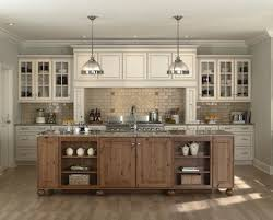black island with butcher block top french country kitchen small