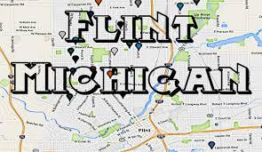 Flint Michigan Map by Map Of The Flint Mi Hoods And The Flint Michigan Gangs