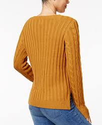 slit sweater hippie juniors cable knit slit sweater sweaters juniors