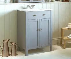 bathroom cabinets freestandinggrey freestanding vanity unit with