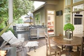 idee amenagement cuisine d ete cuisine d été extérieure 15 idées d aménagement fonctionnel et moderne