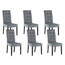 chaise pas cher lot de 6 chaise pas cher grise chaise lot de 6 chaises gris iris chaise