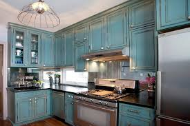 Crackle Paint Kitchen Cabinets Alterman Traditional Kitchen New York By The Cousins