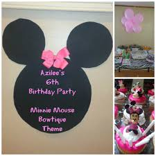 diy minnie mouse bowtique theme decorations youtube