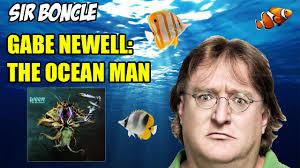 Gabe Newell Memes - gabe newell the ocean man 2016 meme youtube