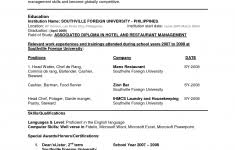 Resume Format For Experienced Assistant Professor Resume Format Experienced Technical Support Engineer