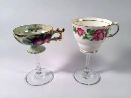 how to make tea cup wine glasses diy network blog made remade