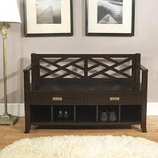 Wooden Entryway Bench Fascinating Entryway Ideas With Light Laminate Wood Flooring And