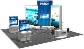 30x30 Trade Show Booth Design Ideas