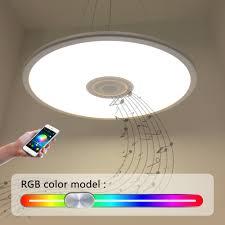 Flush Mount Ceiling Light Shade Natsen Led Ceiling Light Shade With Bluetooth Sound Speaker App
