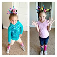 crazy hair day idea this is actually do able without waking at
