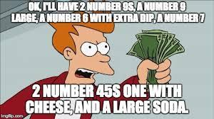 Create Fry Meme - shut up and take my money fry meme imgflip