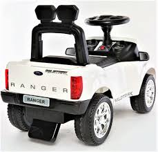 car jeep white licensed ford ranger 6v children u0027s ride on foot to floor jeep
