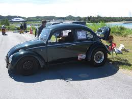volkswagen beetle race car yes there is drag racing in okinawa japan