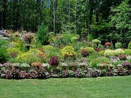 Sloping Backyard Landscaping Ideas Backyard Landscape Ideas Sloped Backyard 01014025 Sloping Yard