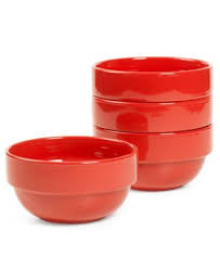 closeout stax living set of 4 cereal bowls casual